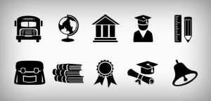 Education Icons by Duck Files (April, 2013)